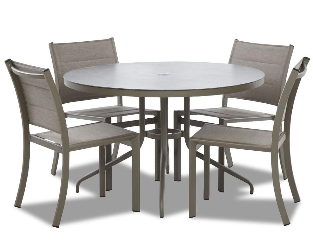 Urban Retreat - Round Outdoor Dining Set (5/CN)