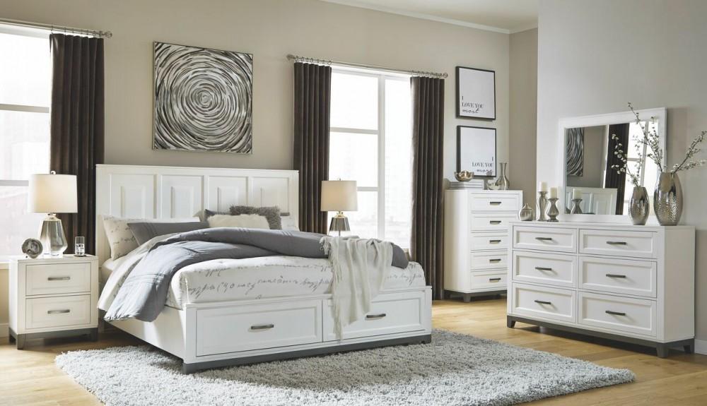 Brynburg - California King 4 Piece Bedroom Set