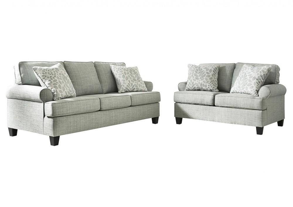 Kilarney - Mist Sofa and Loveseat Set
