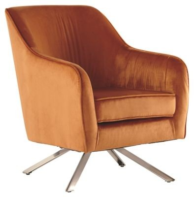 Hangar - Orange Accent Chair