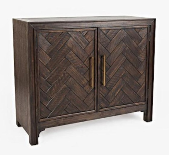 Gramercy - Brown Two Door Accent Cabinet
