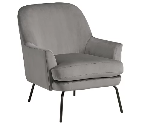 Dericka - Steel Accent Chair