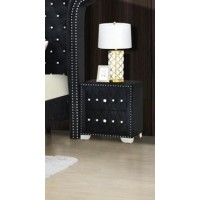 Ella Night Stand Black