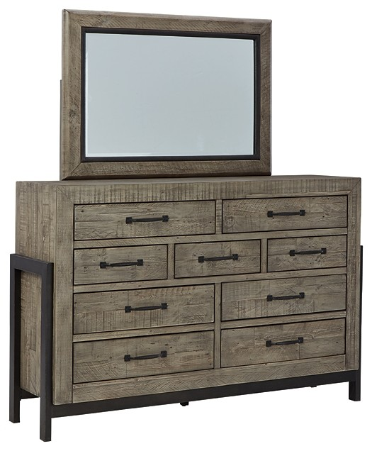 Brennagan - Dresser and Mirror