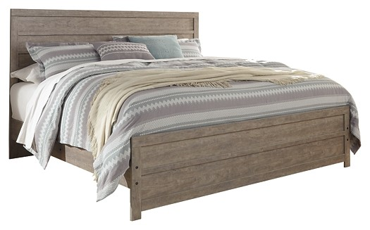 Culverbach - King Panel Bed