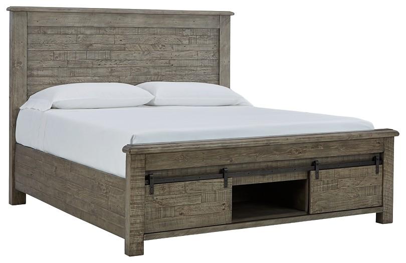 Brennagan - Queen Panel Bed with Storage