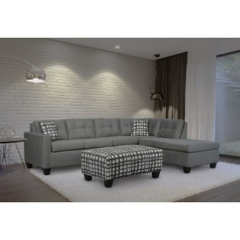 Pippin Grey Sectional