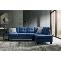 Pippin Blue Sectional