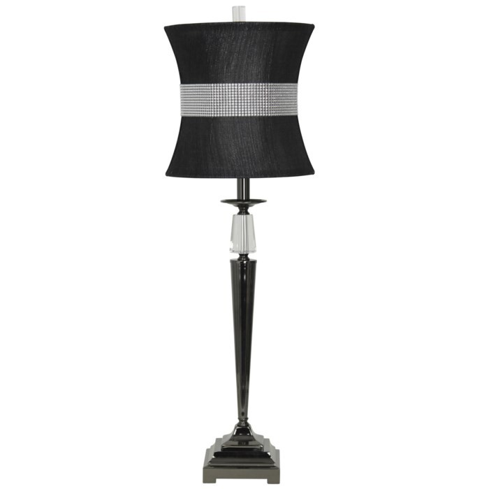 Crystal/Steel - Table Lamp (1/CN)
