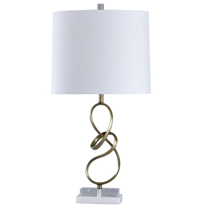 Metal Ribbon Gymnast - Table Lamp (1/CN)