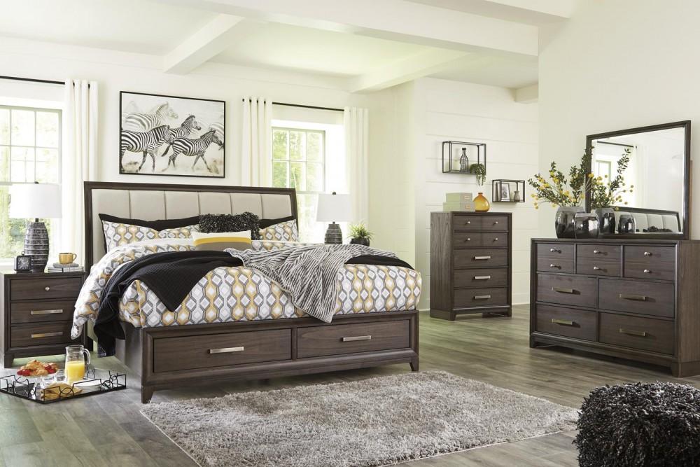 Brueban - Queen 4 Piece Bedroom Set