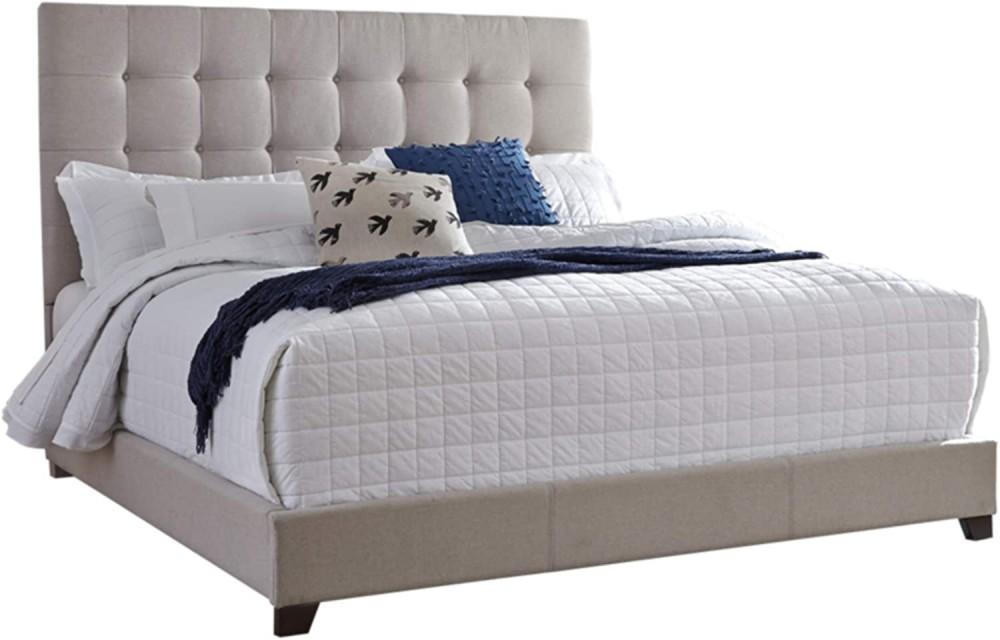 Helenson - Beige Queen Upholstered Bed