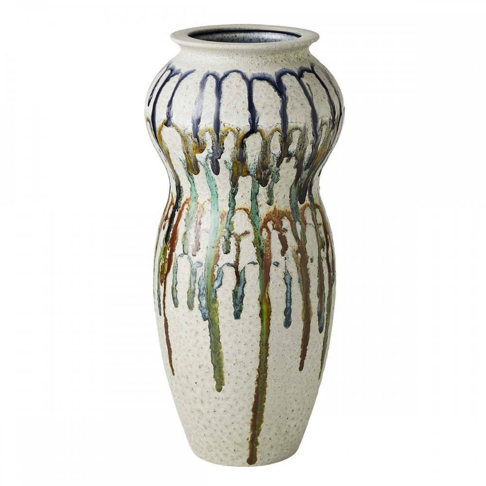 Wavy Drip - Small Vase