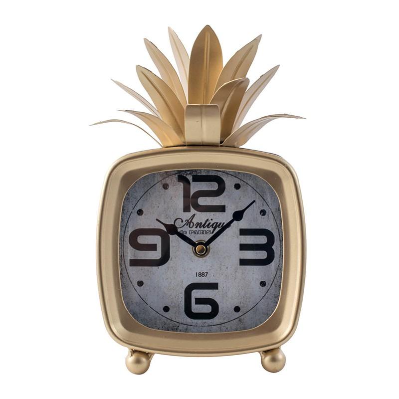 Retro Pineapple Clock