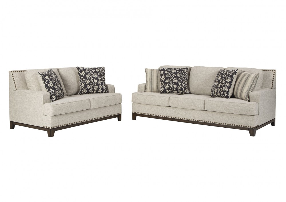 Ballina - Linen Sofa and Loveseat Set