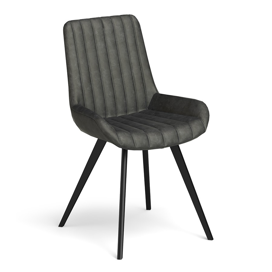 Brooklyn - Grey Dining Chair