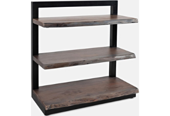 Nature's Edge - Slate 3 Shelf Bookcase
