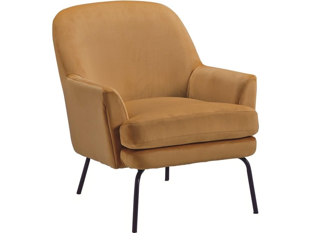 Dericka - Gold Accent Chair