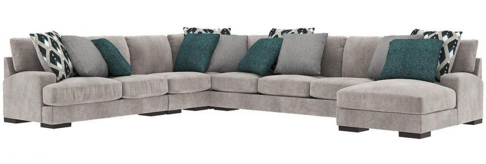 Bardarson - 6-Piece Sectional with Chaise