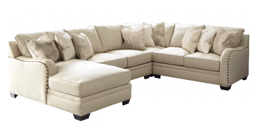 Luxora - 4-Piece Sectional with Chaise