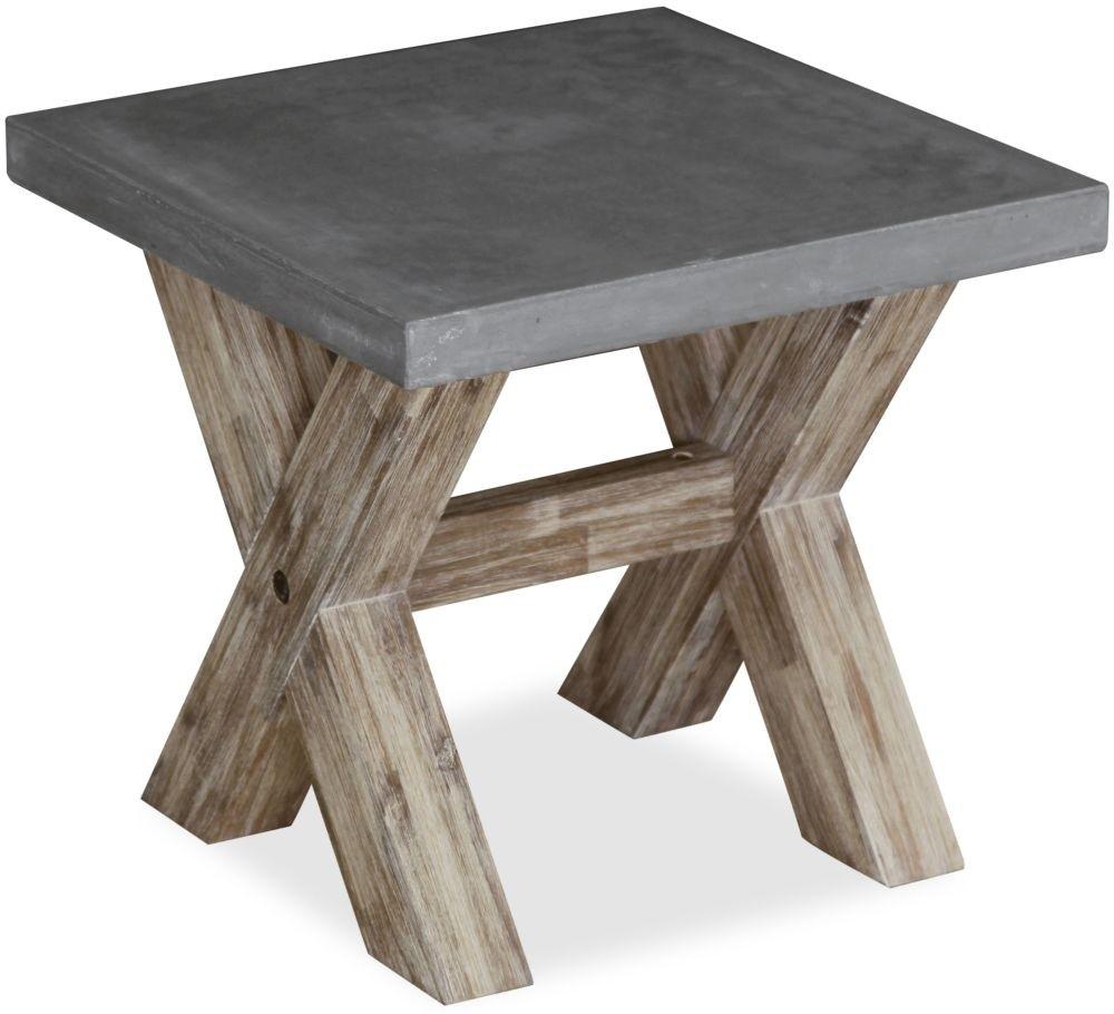 Rockhampton - Concrete Top Lamp Table