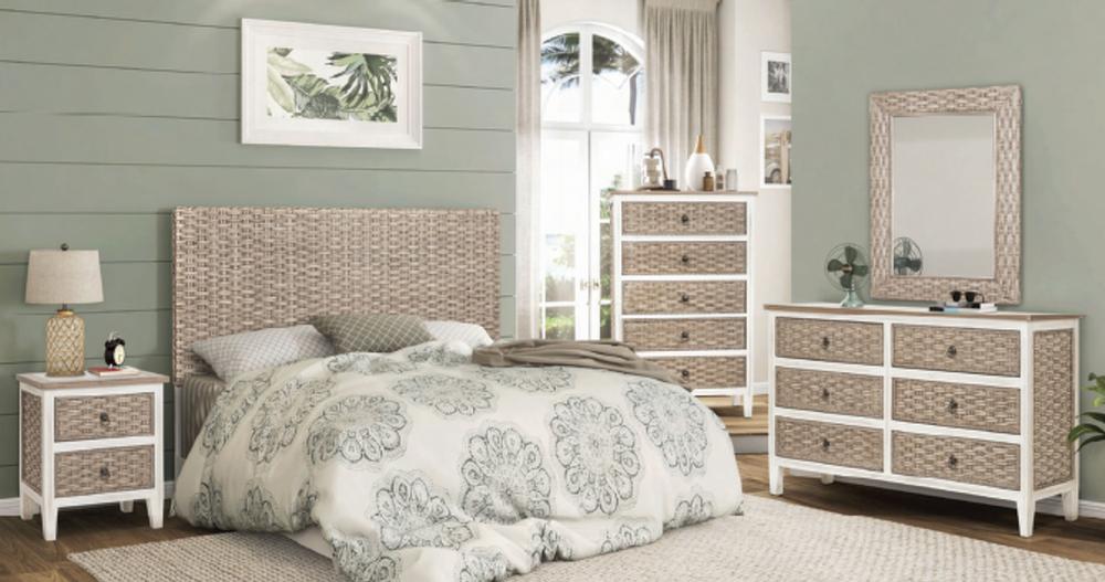 Island Breeze 4 Piece Queen Bedroom Set