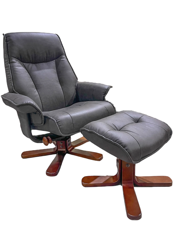BenchMaster - Graphite Polyester Chair