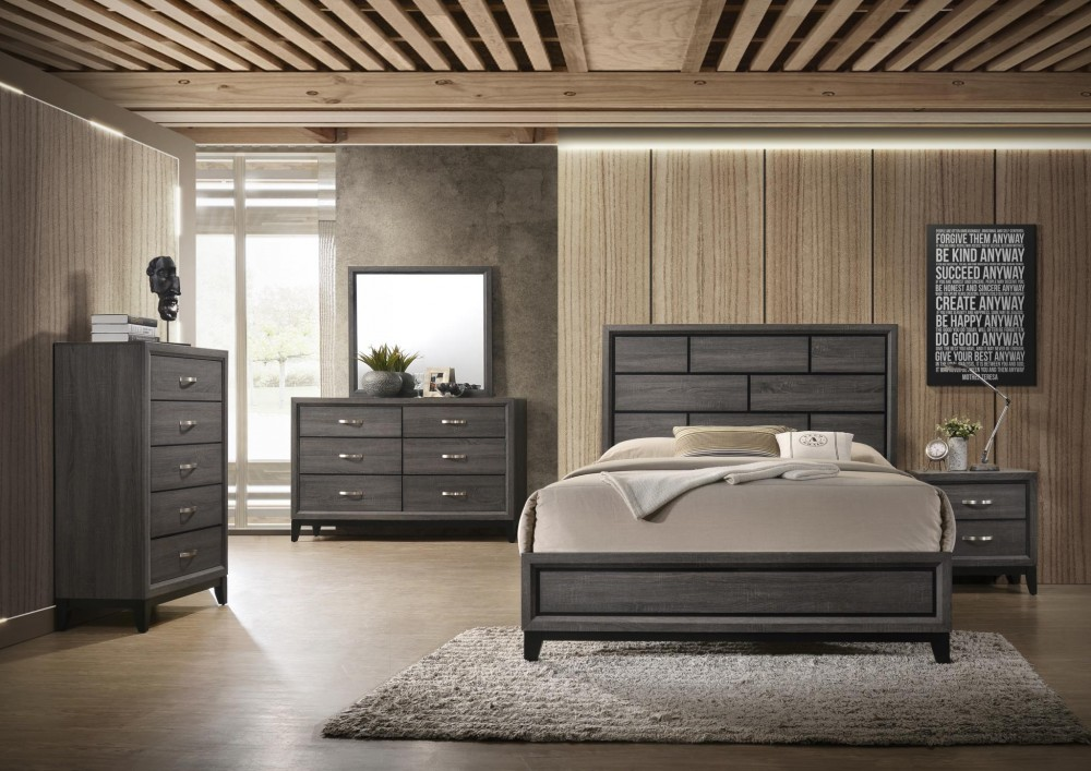 Florida Bay 6 Piece Queen Bedroom Set