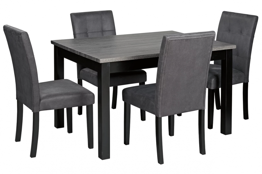 Garvine - Traditional Height Dining Set (5/CN)