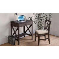 Hobson Brown 2-Piece Desk and Chair