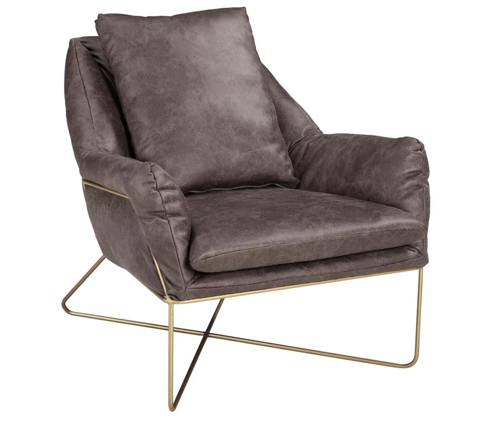 Crosshaven - Dark Gray Accent Chair