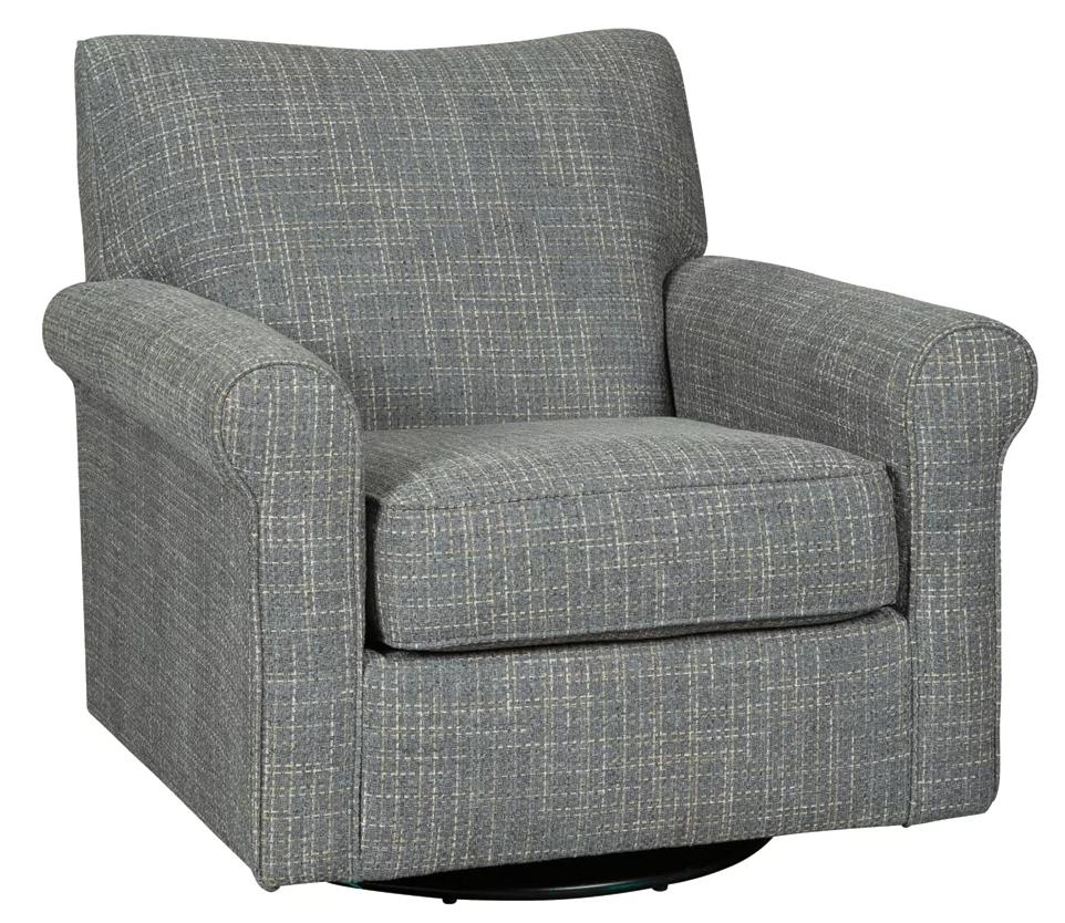 Renley - Ash Swivel Accent Chair
