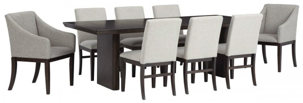 Bruxworth - Extension Dining Set (9/CN)