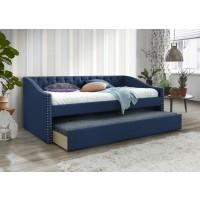Aprelle Blue Trundle Bed