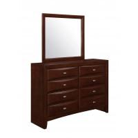 Rico Dresser Mirror Merlot