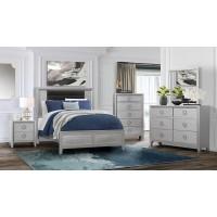 Kinsley Dresser Mirror Queen Bed