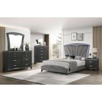 Chris Dresser Mirror Queen Bed