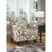 Yvette - Steel - Accent Chair