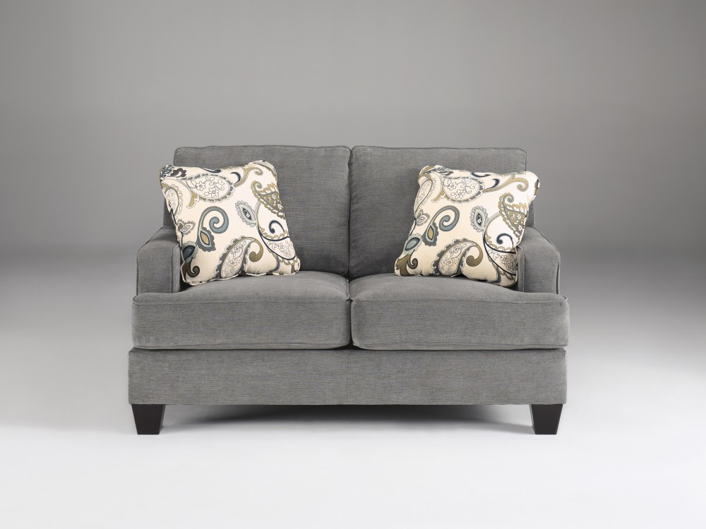 Yvette - Steel - Loveseat