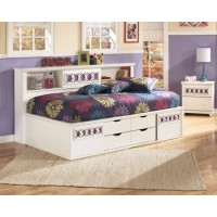 Zayley Twin/Full Bookcase Headboard