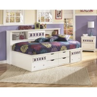 Zayley - Twin/Full Bookcase Headboard