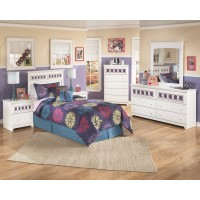 Zayley - Two Drawer Night Stand