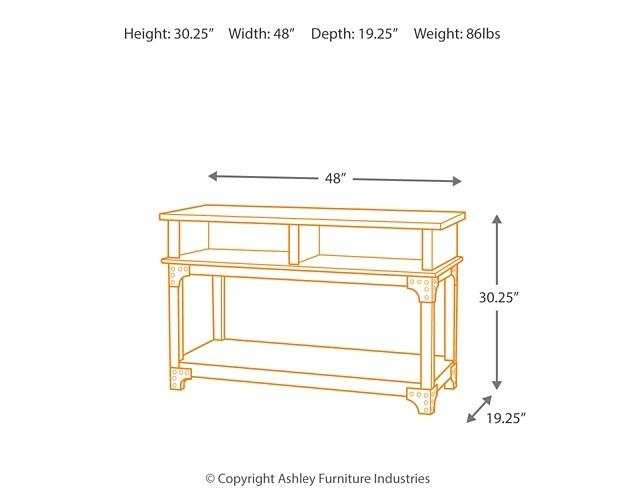 Murphy   Console Sofa Table