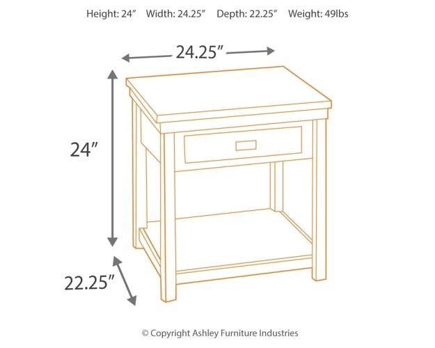 Strange Hatsuko Rectangular End Table Pdpeps Interior Chair Design Pdpepsorg