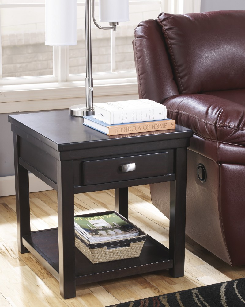 Hatsuko - Rectangular End Table
