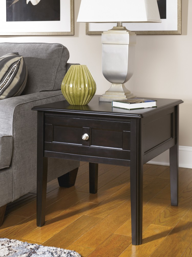 Henning - Rectangular End Table