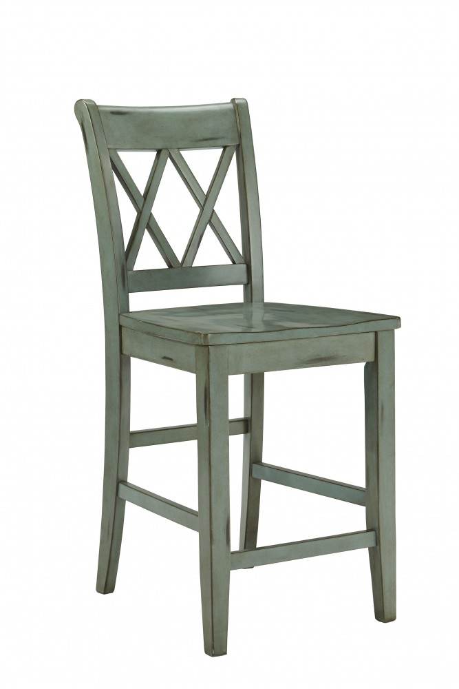 Terrific Mestler Blue Green Barstool 2 Cn D540 124 Bar Theyellowbook Wood Chair Design Ideas Theyellowbookinfo