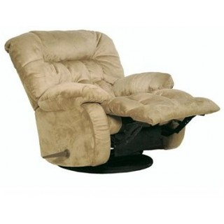 Teddy Bear Oversized  Chaise Swivel Recliner
