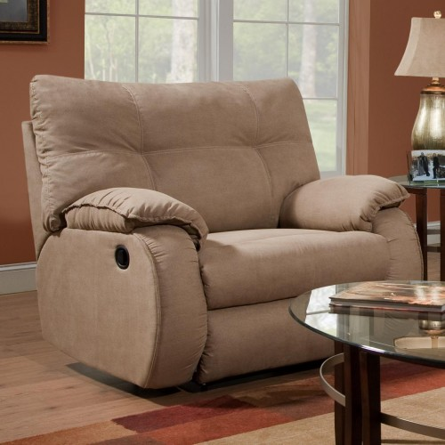 Dodger Plush Chair and a Half Recliner