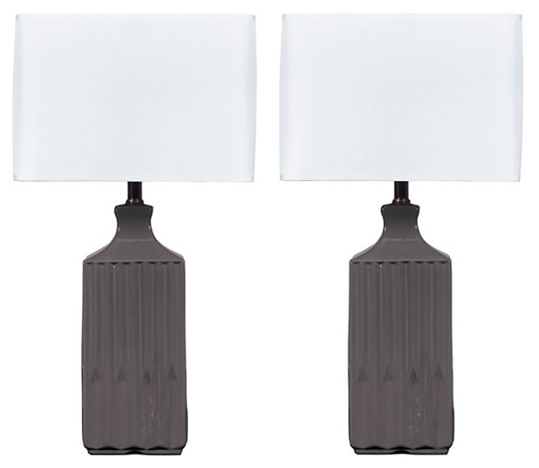 Patience - Ceramic Table Lamp (Set of 2)